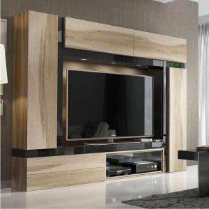 Mueble de TV Roble