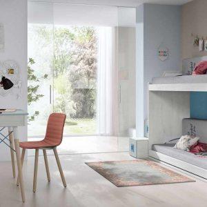 Dormitorio Literas Grey