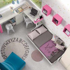 Dormitorio Paris