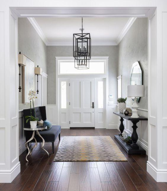 Ideas para decorar la entrada de la casa